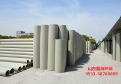 PP通风风管由各式各样无机物原材料复合型而成